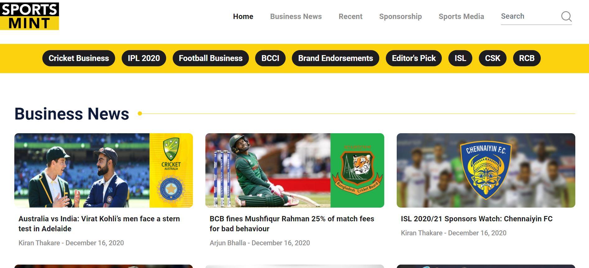 SportsMint Media