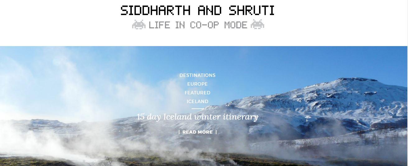 Siddharth and Shruti