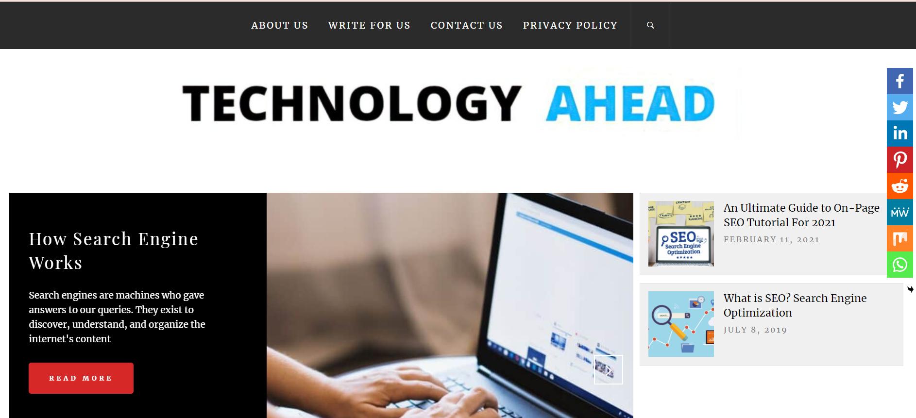 Technology Ahead