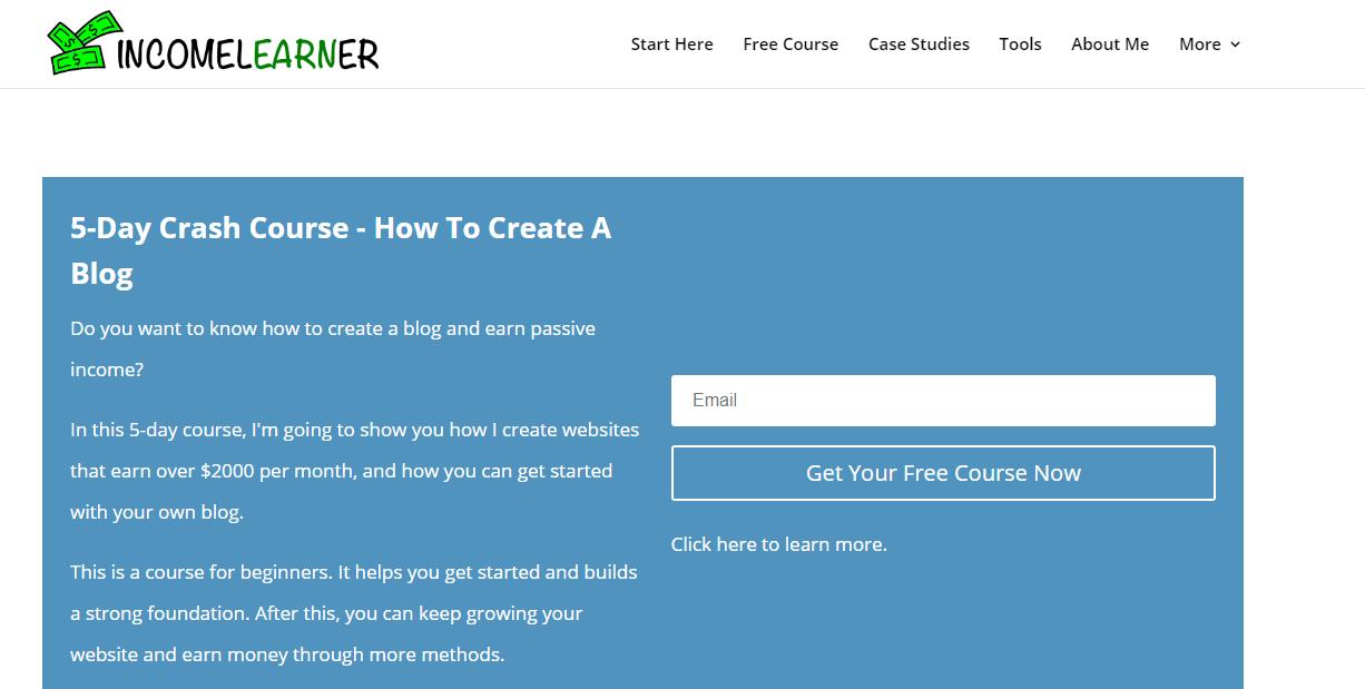 Income Learner