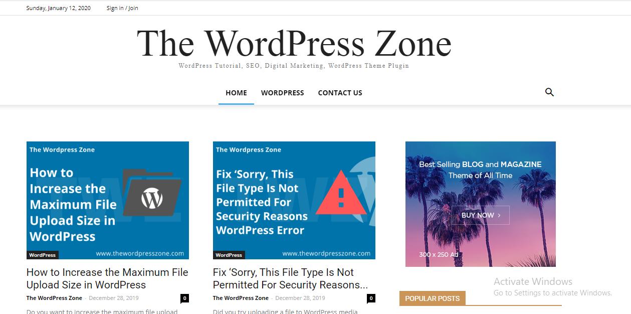 The WordPress Zone
