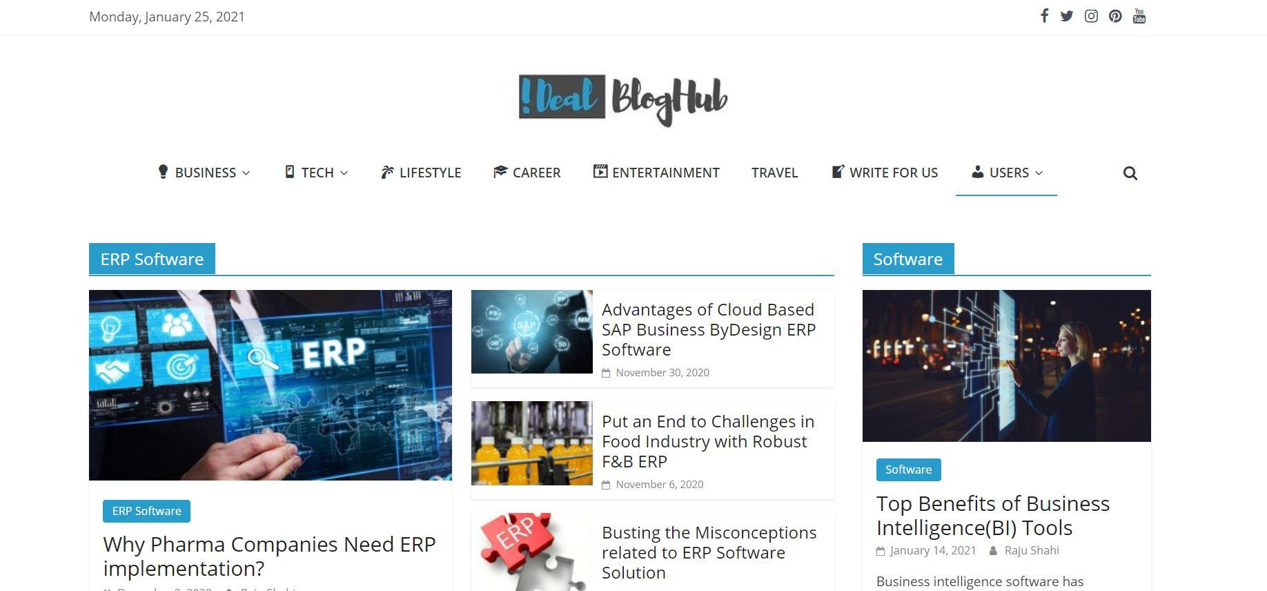 iDeal BlogHub