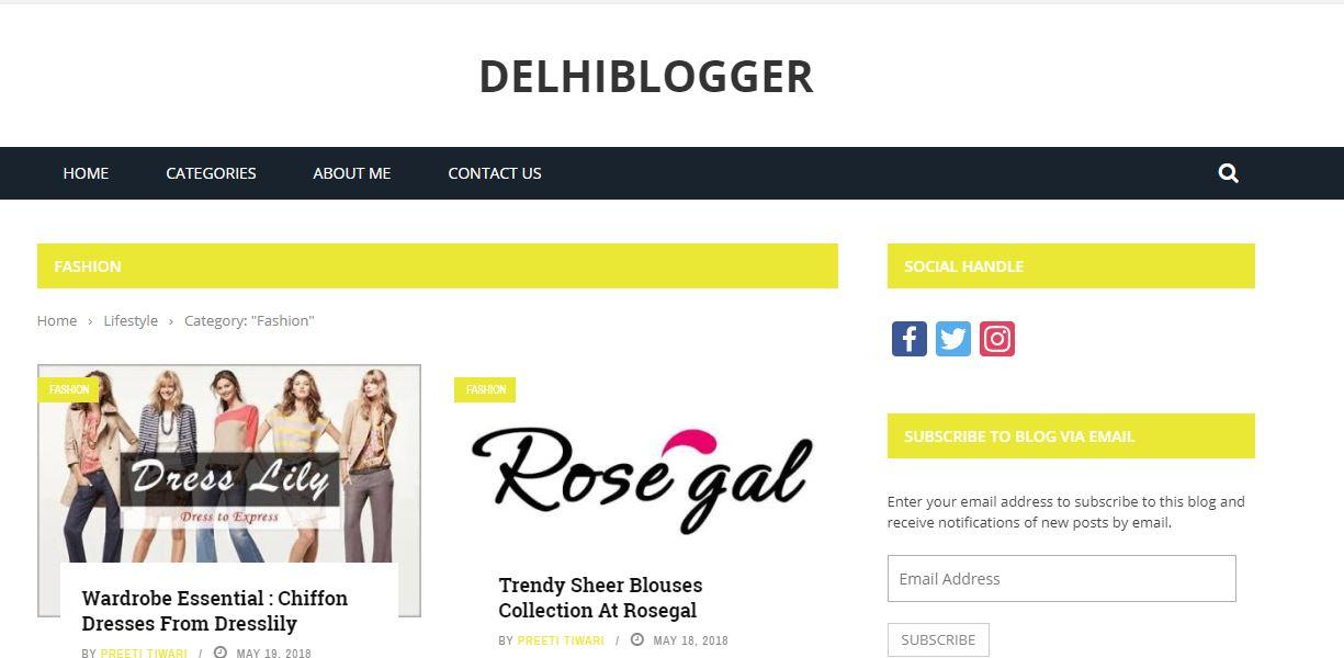 Delhiblogger