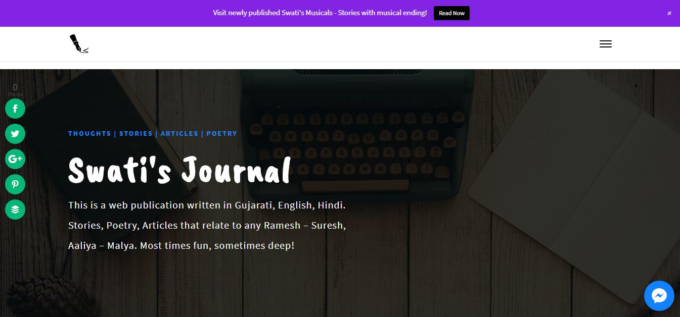 Swati's Journal